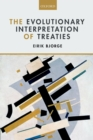 The Evolutionary Interpretation of Treaties - eBook