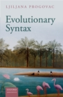 Evolutionary Syntax - eBook