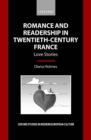 Romance and Readership in Twentieth-Century France : Love Stories - eBook