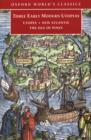 Three Early Modern Utopias : Thomas More: Utopia / Francis Bacon: New Atlantis / Henry Neville: The Isle of Pines - eBook