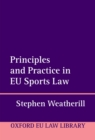 Principles and Practice in EU Sports Law - eBook