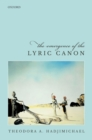 The Emergence of the Lyric Canon - eBook