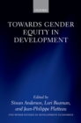 Towards Gender Equity in Development - eBook