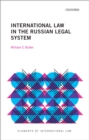International Law in the Russian Legal System - eBook