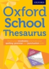 Oxford School Thesaurus - Book