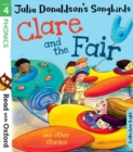 Read with Oxford: Stage 4: Julia Donaldson's Songbirds: Clare and the Fair and Other Stories - Book