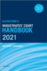Blackstone's Magistrates' Court Handbook 2021 - Book
