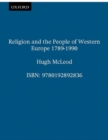 Religion and the People of Western Europe 1789-1990 - Book