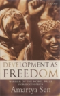 Development as Freedom - Book
