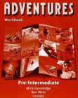 Adventures: Pre-Intermediate: Workbook - Book
