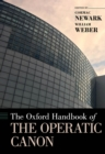 The Oxford Handbook of the Operatic Canon - eBook