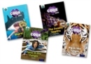 Project X CODE Extra: Green Book Band, Oxford Level 5: Jungle Trail and Shark Dive, Mixed Pack of 4 - Book