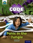 Project X CODE Extra: Green Book Band, Oxford Level 5: Jungle Trail: Panic in the Jungle - Book
