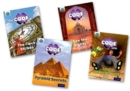 Project X CODE Extra: Purple Book Band, Oxford Level 8: Wonders of the World and Pyramid Peril, Mixed Pack of 4 - Book
