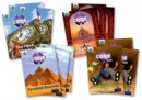Project X CODE Extra: Purple Book Band, Oxford Level 8: Wonders of the World and Pyramid Peril, Class pack of 12 - Book