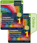 Complete Mathematics for Cambridge Lower Secondary Book 1 : Print and Online Student Book - Book