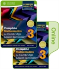 Complete Mathematics for Cambridge Lower Secondary Book 3 : Print and Online Student Book - Book