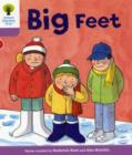 Oxford Reading Tree: Level 1+: First Sentences: Big Feet - Book