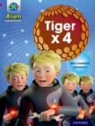 Project X: Alien Adventures: Purple: Tiger x 4 - Book