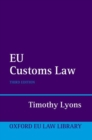 EU Customs Law - Book