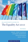 Blackstone's Guide to the Equality Act 2010 - Book