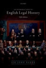 Introduction to English Legal History - Book