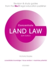 Land Law Concentrate : Law Revision and Study Guide - Book