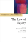 Philosophical Foundations of the Law of Equity - Book