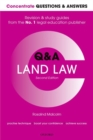 Concentrate Questions and Answers Land Law : Law Q&A Revision and Study Guide - Book