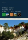 Oxide Thin Films and Nanostructures - Book