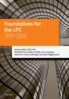 Foundations for the LPC 2019-2020 - Book