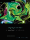 Employment Law in Context - Book