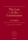 The Law of the Constitution - Book