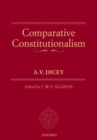 Comparative Constitutionalism - Book