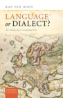 Language or Dialect? : The History of a Conceptual Pair - Book