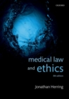 Medical Law and Ethics - Book