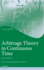 Arbitrage Theory in Continuous Time - Book