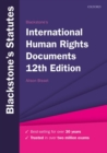 Blackstone's International Human Rights Documents - Book