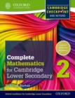 Complete Mathematics for Cambridge Lower Secondary 2 : Cambridge Checkpoint and beyond - Book