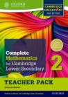 Complete Mathematics for Cambridge Lower Secondary Teacher Pack 2 : For Cambridge Checkpoint and beyond - Book