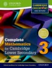 Complete Mathematics for Cambridge Lower Secondary 3 : Cambridge Checkpoint and beyond - Book