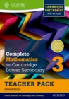 Complete Mathematics for Cambridge Lower Secondary Teacher Pack 3 : For Cambridge Checkpoint and beyond - Book
