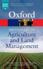 A Dictionary of Agriculture and Land Management - Book