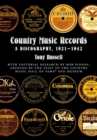 Country Music Records : A Discography, 1921-1942 - eBook
