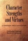 Character Strengths and Virtues : A Handbook and Classification - eBook