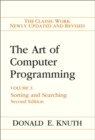 The Art of Computer Programming : Volume 3: Sorting and Searching - Book