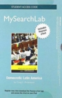 MySearchLab with Pearson Etext - Standalone Access Card - for Democratic Latin America - Book