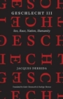 Geschlecht III - Sex, Race, Nation, Humanity - Book