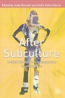 After Subculture : Critical Studies in Contemporary Youth Culture - eBook