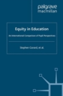 Equity in Education : An International Comparison of Pupil Perspectives - eBook
